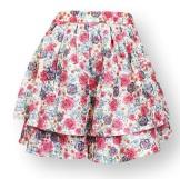 Fumblin'+Foe+Women's+Mini+Skirt+Double+Ruffle+Floral1